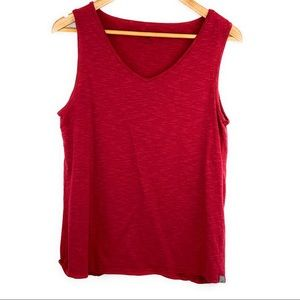 Horny Toad Red Tank Top